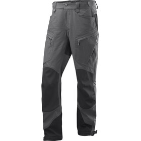Haglöfs Rugged Mountain - Pantalon long Homme - gris/noir